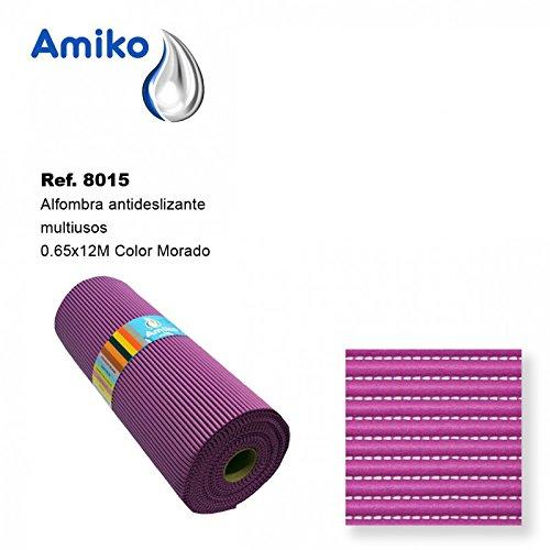 Alfombra Antideslizante Multiusos Morada 0.65x12M Amiko