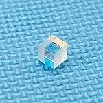 PBS Polarizing Beam Splitter Transparent Lens 630nm-660nm Polarizing Beam Splitter Cubes Lens 10X10mm