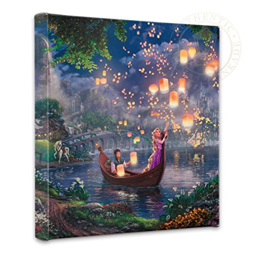 Thomas Kinkade Studios Tangled 14 x 14 Gallery Wrapped Canvas ()