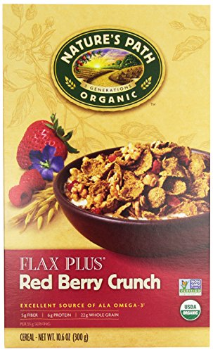 Nature's Path Red Berry Flax Cereal, Organic, 10.6 oz - Path Grain Natures Whole
