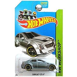 Hot Wheels 2013 HW Workshop Asphalt Assault Cadillac CTS-V CTS CTSV Silver Grey Gray