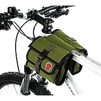 COTEetCI Bicycle Frame Front Tube Beam Bag Transparent...