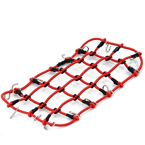 Hot Sale!DEESEE(TM)1/10 RC Elastic Luggage Net Vehicles Crawler Accessory For RC4WD Axial SCX10 D90 -
