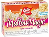 Cheap Jolly Time Mallow Magic Sweet Marshmallow Flavor Microwave Popcorn, 2-Count Boxes, 8.8oz (Pack of 12)