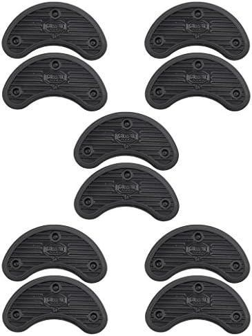 シューズ補修材 ヒール 先端 靴底用 補修材 超耐摩 靴 修理キット 約56x24x3.1cm