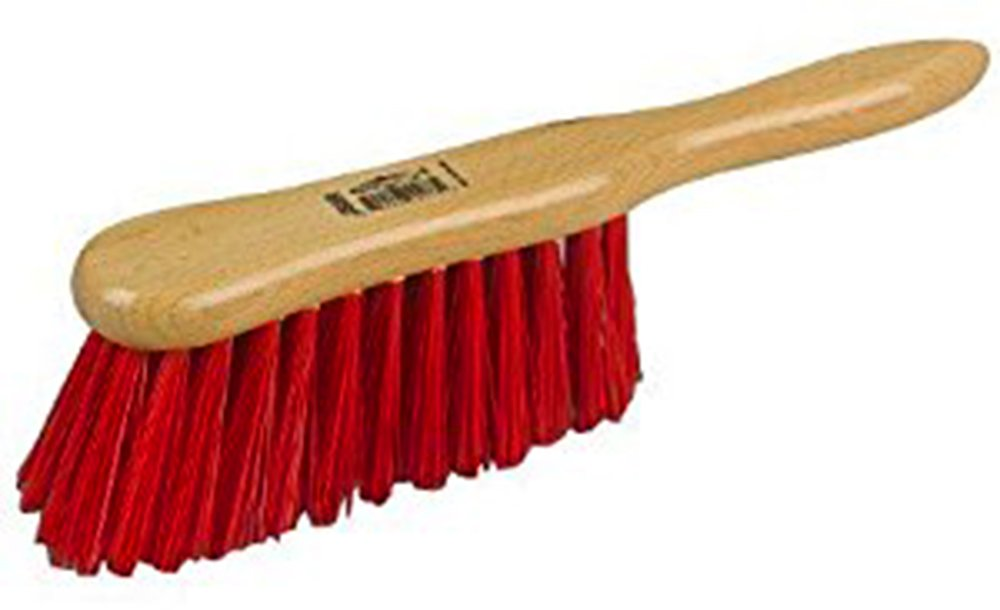 6' (150mm) British made stiff bristle PVC hand brush by HILLS / HERREWEGE BRUSHES JS8R