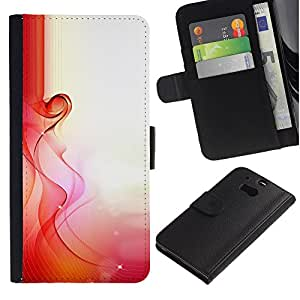 A-type (Love Spring Morning Sun Pregnancy Woman) Colorida Impresión Funda Cuero Monedero Caja Bolsa Cubierta Caja Piel Card Slots Para HTC One M8