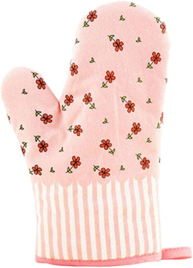 LoCbaT- 1pcs Cute Cooking Microwave Oven Mitt Insulated Non Slip Glove Thickening Temperature - Mitt Oven Mitts Glove Microwave Oven Mitts Sleeves Spoon Glove Plastic Kitch