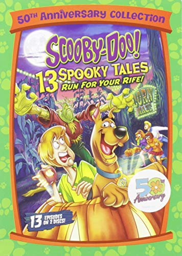 Scooby-Doo! 13 Spooky Tales Run For Your 'Rife! -