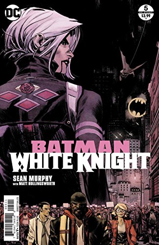 Batman: White Knight (2017) #5 VF/NM Sean Murphy Neo Joker