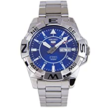Seiko 5 Sports SRPA61 Men's Explorer Stainless Steel Blue Dial Automatic Watch