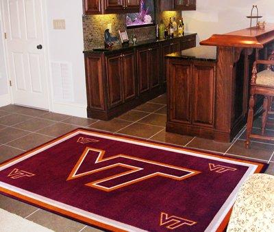 Virginia Tech Rug (Sports Rug - Virginia Tech (4 ft. x 6 ft.))