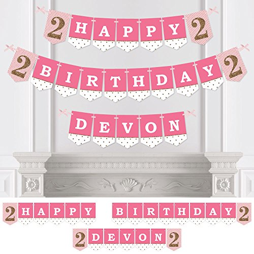 Custom Happy Birthday Banner - 6