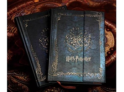 Vintage harry potter notebook /Diary Book/Hard Cover Note /Notepad/Agenda Planner Gift 2016-2017-2018 (Harry Potter Quidditch Costume Kit)