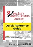 img - for Quick Reference Guide to 31 Small Steps to Organize for Emergencies (and Disasters) book / textbook / text book