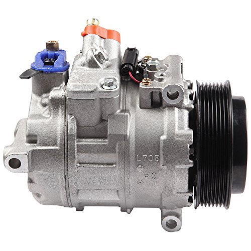 ECCPP Replacement for A/C Compressor fits Mercedes-Benz C230 E350 Porsche 911 Boxster Cayman Panamera