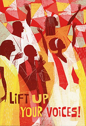 Search : Lift Up Your Voices Box of 16 African American Christmas Cards