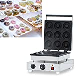 Wotefusi Donut Maker Donut Backer 9 Pieces Electric Doughnut Maker Machine for Commercial Home Kitchen Use 110V