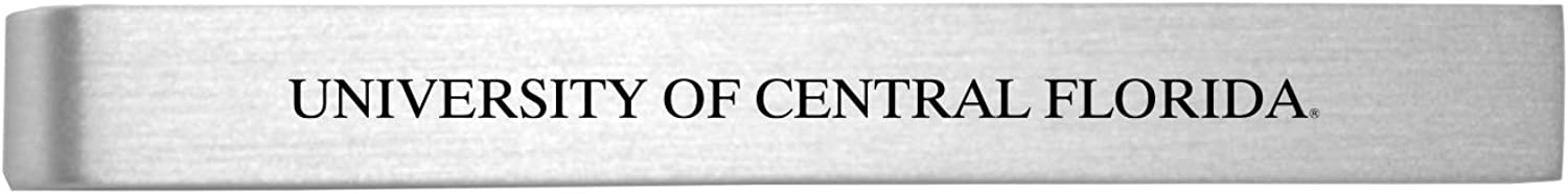 University of Central Florida-Brushed Metal Tie Clip-Silver
