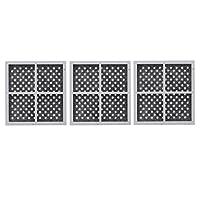 Nispira Filtro de aire del refrigerador Compatible con LG LT120F ADQ73214404, 3 filtros