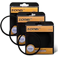 Zomei 72mm Cross Star Filter 4 Points + 6 Points + 8 Points Cross Starburst Lens Filter