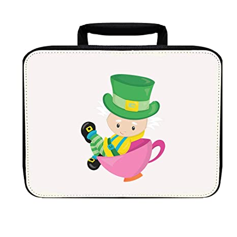 : The Mad Hatter Nylon Insulated Lunch Box Food