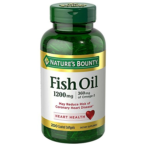 Natures Bounty Omega 3 Softgels Odorless