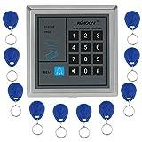 KKmoon RFID Proximity Door Entry Access Control System + 10 Key Fobs