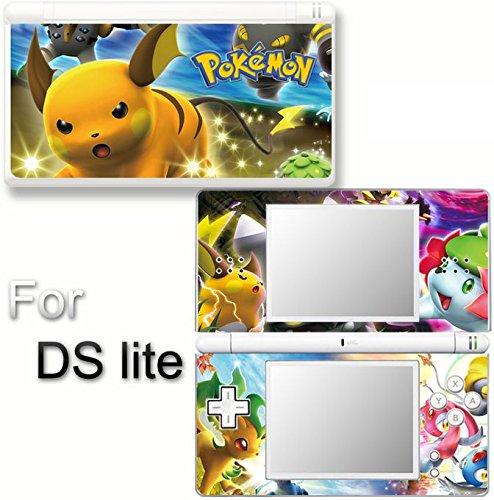 (Pokemon Pikachu SKIN DECAL COVER STICKER for Nintendo DS lite)