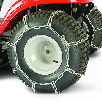 (MTD 490-241-0023 Pack of 2 Lawn Tractor Rear Tire Chains)