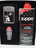 Collectable Retired Jimi Hendrix B & W Guitar ZippoLighter Gift Set