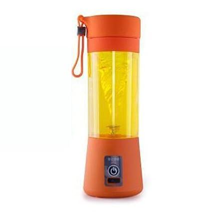 Nclon Portátil Individual Recargable Batidora Zumos de fruta Mixer,,Exprimidor Smoothie maker Mini Casa
