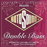 Rotosound RS(4000M Superb Nylon/Monel Flatwound Double Bass Set
