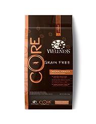 Wellness CORE Natural Grain Free Dry Dog Food, Original Turke...