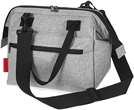 6b82fb397c8d Lixada Esonmus Portable Leakproof Insulated Lunch Bag Heat Cool ...