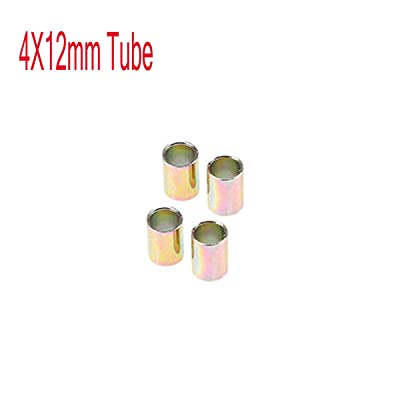 Universal Aluminum Motorcycle Shock Absorber Rear Suspension 12 mm Bushing, 4pcs: Automotive