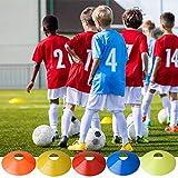 DVEDA Sport Disc Cones Sets, 50 Pcs Agility