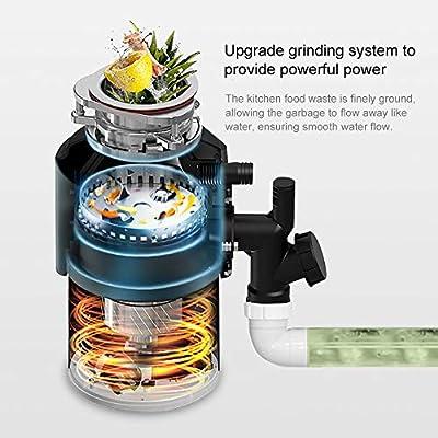 Triturador de Desperdicios de Comida, Con Interruptor de Aire e ...