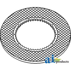 A&I Products Disc, Clutch Replacement for John Deere Part Number RE35512