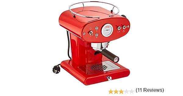 Francis Francis para Illy X1 Ground Coffee Machine, Rojo: Amazon.es: Hogar