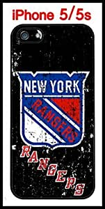 New York Rangers iPhone 5s 5 Case Hard Silicone Case