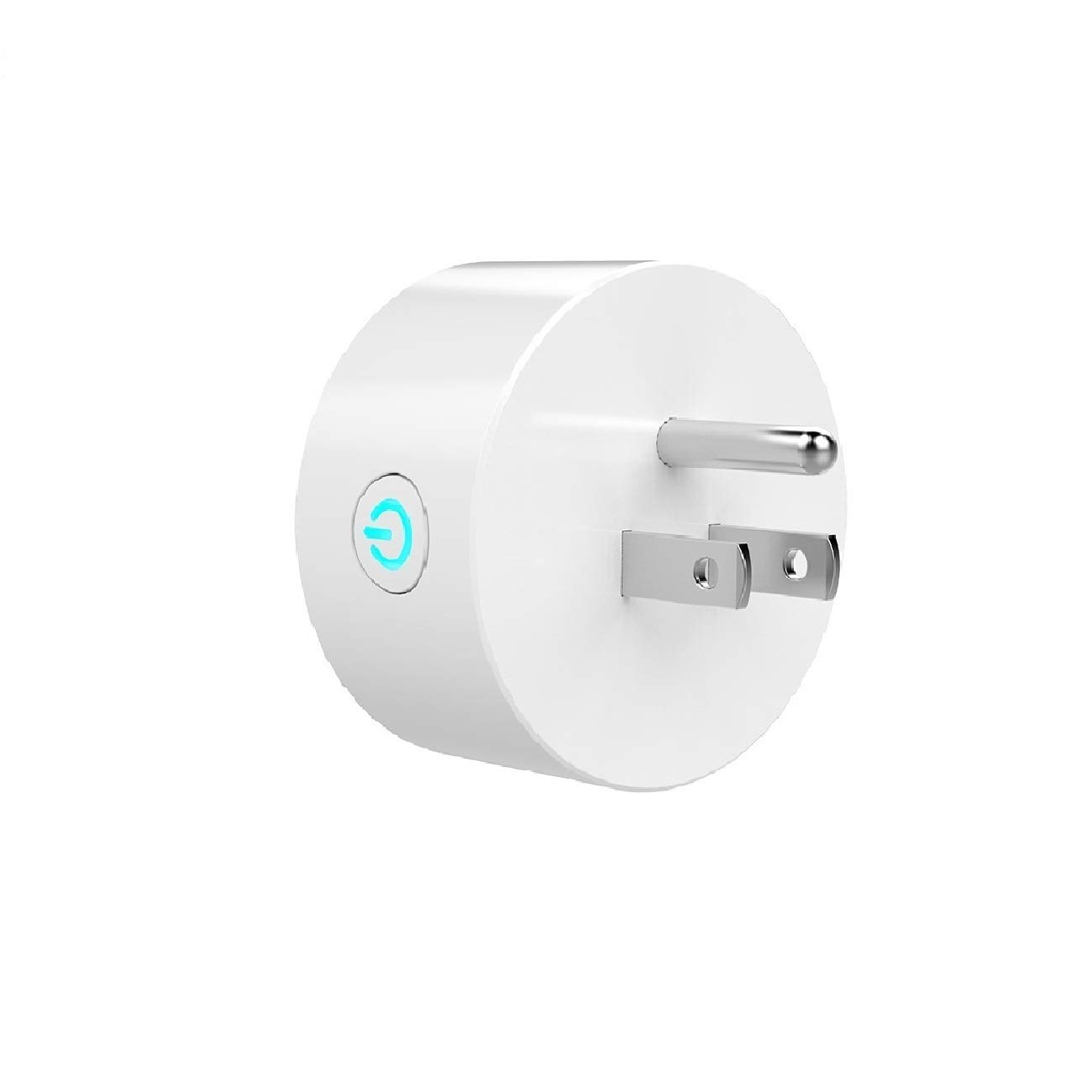 Mini Smart Socket Wifi Plug US Work with Alexa Echo Dot Voice Control No Hub Required Timing Function (2 Pack) by EVO-SMART (Image #3)