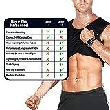 Cimkiz Mens Sauna Vest Sweat Body Shaper Slimming