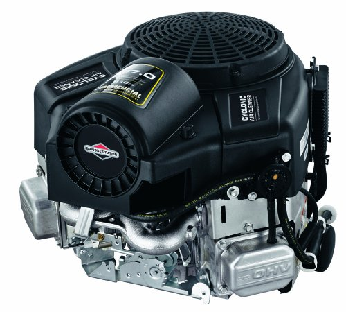 Briggs & Stratton 49T877-0004-G1 Commercial Turf Series 27 Gross HP 810cc V-Twin with Cyclonic Air Filter and 1-1/8-Inch by 4-5/16 ()