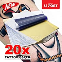 20x Tattoo Transfer Paper Stencil Carbon Thermal Tracing Hectograph Sheet
