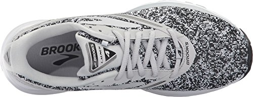 cbda9621eb5c4 Brooks Women s Launch 4 White Microchip Athletic Shoe – SoCutsy… An ...