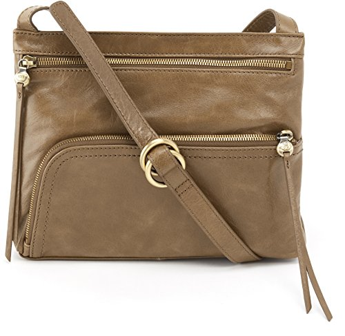 Hobo Womens Genuine Leather Vintage Cassie Crossbody Bag (Mink)