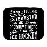Love Ice Hockey Briefcase Hand