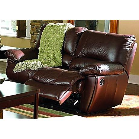 Coaster Home Furnishings 600282 Casual Motion Loveseat Dark Brown