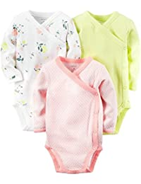 Carter's 3 Pack Side Snap Bodysuits (Baby)